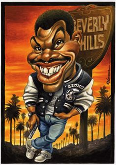 Eddie Murphy  ...FOLLOW THIS BOARD FOR GREAT CARICATURES OF PEOPLE WE KNOW..I'LL BE ADDING NEW PINS DAILY..