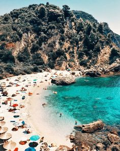 Crystal clear waters of Parga #Greece