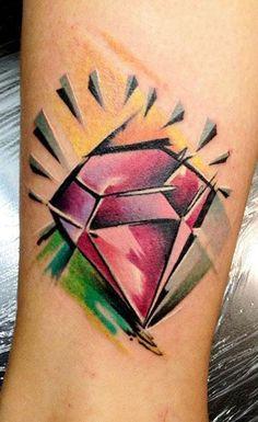 New School Small Tattoo by Bobek Tattoo - http://worldtattoosgallery.com/new-school-small-tattoo-by-bobek-tattoo/