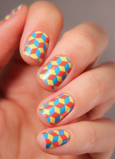 ncLA | Nail Wraps | Cubed