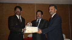 Dr. Rama Krishna Kumar Krishnamurthy receiving certificate of Fellowship in minimal access Surgery at World Laparoscopy Hospital. For more detail please log on to www.laparoscopyhospital.com