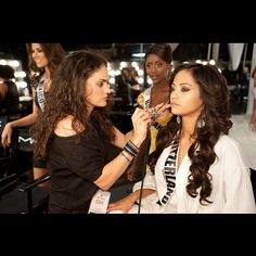 In honor of #missuniverse this week ill be posting a Few of favorite shots from the past 10 years working backstage. With a newborn baby I can't be there this year. But I'm there in spirit. #ilovemyjob. this was with #MissSwitzerland 2012 . @delaneyhbeauty @cutyycaza @yukotakahashimakeup @lisaproctormua #makeup #makeupbyme #makeupartist #makeuptutorial #mua #cosmetics #pageantmakeup #pageant #pageantcosmetics #beauty #missusa #theperfectface #theperfectmakeup #tpfcosmetics #danielledoyle