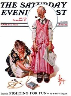 Norman Rockwell is my favorite artist:)
