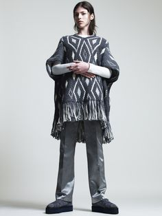 Lookbook Fall Winter Woman Collection 2014/15 - Focus on the Jacquard Fabric