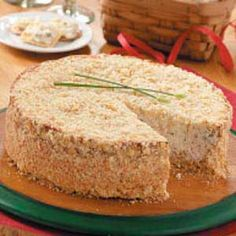 Savory Ham Cheesecake ~ This contest-winning recipe is great.  Serve it on a Sunday following a Saturday ham dinner.  Serves 24-30!