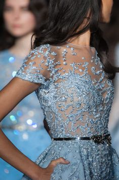 "couture-constellation: "" Zuhair Murad Haute Couture Spring 2015 This is a legit Cinderella ball gown "" Style Couture, Couture Details, Couture Fashion, Fashion Mode, Runway Fashion, Fashion Outfits, Fashion Clothes, Fashion Fall, 90s Fashion"