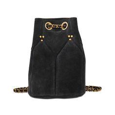 JÉRÔME DREYFUSS Popeye Bag In Split Suede. #jérômedreyfuss #bags #shoulder bags #suede #