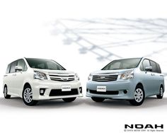 NOAH made by Toyota.