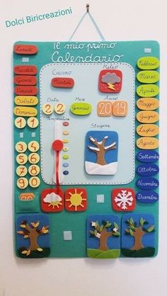 Counting Apples Montessori Busy Bag Matching Game, Fine Motor, Learning Colors and Numbers, Toddler Educational Toys, Felt Learning Game Preschool Learning Activities, Creative Activities, Preschool Activities, Kids Learning, Kids Educational Crafts, Learning Colors, Classroom Calendar, School Calendar, Kids Calendar