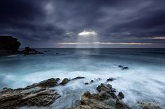 Water movements by Angel Usero on 500px ~ Cala Carbon, SE Spain.