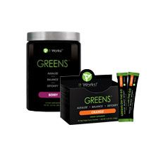 Do you get your 8+ servings of fruits and veggies everyday?  I can help with GREENS! Its a powder form you add to juice or water and its al your fruits and veggies for the day!  Contact me for more information or free samples!
