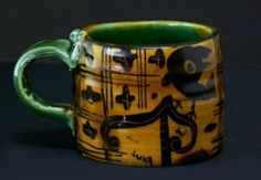 Works and shops of craftsmen potter - mugs - cups Aaron scythe 2013 Cup
