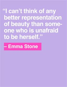 Quote of the Day: Emma Stone