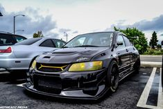 Black and Yellow Evo