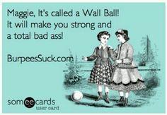 #Crossfit #wallballs