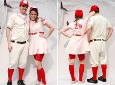 A League of Their Own Costumes!!! Totally need to figure out how to make these!! My favorite movie ever!