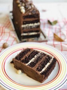 Cake Receipe, Romanian Desserts, Torte Cake, Something Sweet, Chocolate Desserts, Cake Decorating, Sweet Treats, Food And Drink, Cooking Recipes