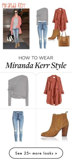 """""""Miranda Kerr style5"""" by elisa-itgirl on Polyvore featuring Kerr®, Tom Ford, H&M, River Island and Sole Society"""