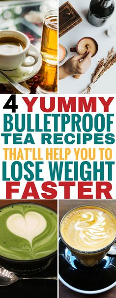 These bulletproof tea recipes are THE BEST! I'm so glad I found these tasty bulletproof tea recipes that are great for having on the keto diet. Now I can enjoy bulletproof green tea, chai tea, black tea and so much more to make being on the ketogenic diet easier. Definitely pinning this for later! #bulletproof #tea #keto #ketogenic #ketogenicdiet #ketorecipes