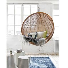 Znalezione obrazy dla zapytania pleciony fotel. Hanging ChairsSwing ...  sc 1 st  Pinterest & Hanging Bubble Chair Ikea | Ooh | Pinterest | Bubble chair and Room