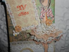 15 años vintage Scrapbook, Cover, Books, Art, Art Background, Libros, Scrapbooks, Kunst, Book