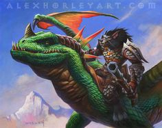 Illustration de Alex Horley
