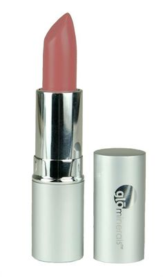 """The perfect shade of shimmery nude lipstick for tan skin - """"Nutmeg"""" $17"""
