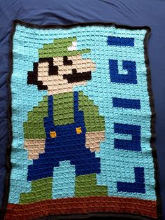 """""""I want to find a super cute pixel graphic to make into a blanket by crocheting squares. Ideas?"""""""