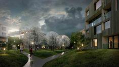 Green City Housing Complex / Chybik + Kristof Associated Architects,Courtesy of Chybik + Kristof Associated Architects