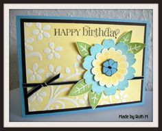 Baja Bloom Birthday Card by FubsyRuth - Cards and Paper Crafts at Splitcoaststampers