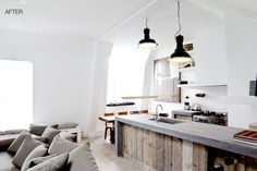 Apartment on the canals of Amsterdam, BRICKS realised a full renovation and furnishing.