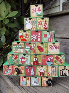You've got to go check out the amazing Christmas tree that Michelle Liimatainen made with my 1 Drawer Box. I was shocked by how cool it is! I just had to share. I hope everyone has a Happy Thanksgi...