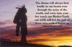 The drum...