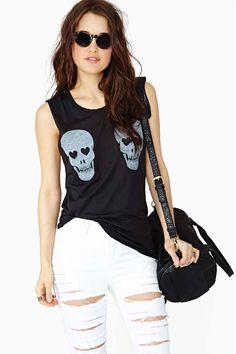 Skull Crusher Muscle Tee