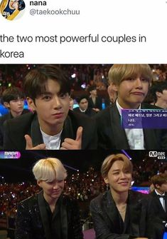 2 power couples at MAMA 2017 lol don't fight me it's just adorable