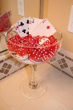Casino Birthday Birthday Party Ideas | Photo 5 of 23 | Catch My Party
