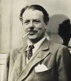 HAROLD NICOLSON • English diplomat, author, diarist and politician. • Husband (open marriage) of writer Vita Sackville-West. • His younger son Nigel published works by and about his parents, including Portrait of a Marriage, their correspondence, and Nicolson's diary.
