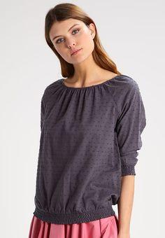 Pusero - iron grey Iron, Tops, Women, Fashion, Moda, Fashion Styles, Fashion Illustrations, Steel, Woman
