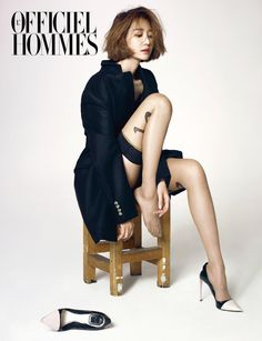 Go Joon Hee L'Officiel Hommes Korea Magazine December 2013