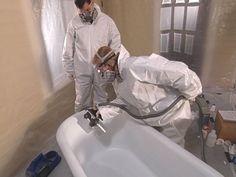 redo clawfoot bathtub DIY