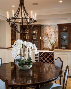 rectangle chandelier 7 Fabulous Farmhouses Pinterest