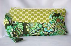 Wristlet Clutch Dandelion Field Forest Amy by paocollection Amy Butler Fabrics Amy Butler Fabric, Wristlet Wallet, Wallets For Women, Zipper Pouch, Teacher Gifts, Clutch Bag, Fabric Design, Diaper Bag, Dandelion