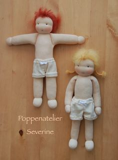 Poppenatelier Severine: De dametjes/The little ladies
