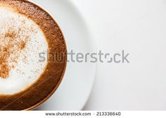 Cappuccino cup of coffee.