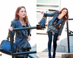 Gossip Girl Blair Waldorf Fashion | blair waldorf, fashion, gossip girl, leighton meester, louis vuitton ...