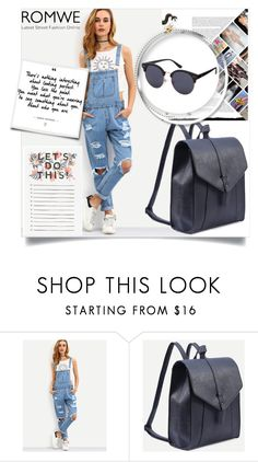 """""""ROMWE 6"""" by melisa-hasic ❤ liked on Polyvore"""