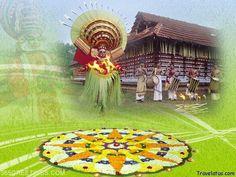 The Onam Festival in India