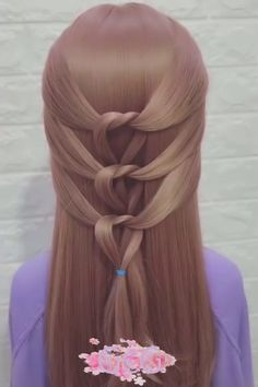 Pretty Easy Hairstyles Flat Irons is part of Cute Hairstyles That Are Easy To Do With A Straightener - 30 Amazing simple hairstyles compilation! Creative Hairstyles, Braided Hairstyles, Cool Hairstyles, Halloween Hairstyles, Hairstyle Short, Beautiful Hairstyles, Haircut Short, Christmas Hairstyles, Elegant Hairstyles