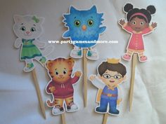 Daniel Tiger's Neighborhood Birthday Party by PARTYGAMESANDMORE, $7.99