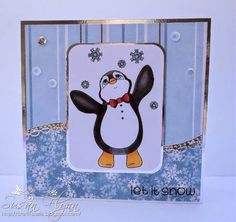 Beccy's Place - Finn in the Snow Set Let It Snow, Let It Be, Digital Stamps, I Card, Christmas Cards, Snoopy, Kids Rugs, Create, Places